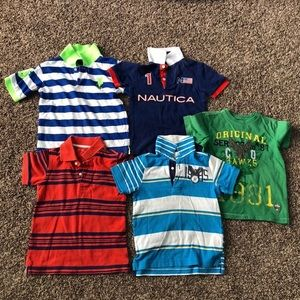 Lot Of 5 Tops/Polos/T-shirts